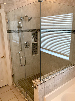Myrtle Beach shower doors